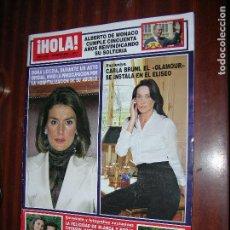 Coleccionismo de Revista Hola: (F.1) REVISTA HOLA Nº 3321 AÑO 2008 (NURIA ESBERT LA GRAN DAMA DEL TEATRO VUELVE A LOS ESCENARIOS). Lote 101193306