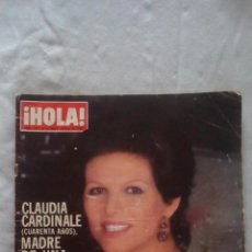 Coleccionismo de Revista Hola: HOLA Nº1811 - MAYO 1979 - CLAUDIA CARDINALE MADRE, DON JUAN DE BORBO EN EL JUAN SEBASTIAN ELCANO..... Lote 92104930