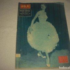 Coleccionismo de Revista Hola: HOLA ! . NUMERO ESPECIAL MODAS PRIMAVERA-VERANO 1957 , N° 653 , MARZO. Lote 94120715