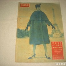 Coleccionismo de Revista Hola: HOLA ! . MODA OTOÑO-INVIERNO 1956-1957 , N° 628 , SEPTIEMBRE 1956. Lote 94121305
