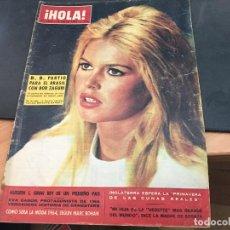 Coleccionismo de Revista Hola: HOLA Nº 1012 18 ENERO 1964 BRIGITTE BARDOT, CARMEN SEVILLA, EVA GABOR, FRANCOISE HARDY (HOLA-C). Lote 95774219