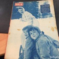 Colecionismo da Revista Hola: HOLA Nº 698 11 ENERO 1958 LINDA CHRISTIAN, AVA GARDNER, MARIA CALLAS (HOLA-C). Lote 95776599