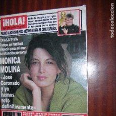 Coleccionismo de Revista Hola: (F.1) REVISTA HOLA Nº 3060 AÑO 2003 (CHENOA: MI RELACIÓN CON DAVID VA PERFECTAMENTE). Lote 95803607