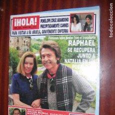 Coleccionismo de Revista Hola: (F.1) REVISTA HOLA Nº 3068 AÑO 2003 (DAVID BECKHAM AHORA CON PEINADO AL ESTILO ..AFRO... Lote 95803847