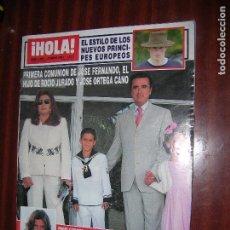 Coleccionismo de Revista Hola: (F.1) REVISTA HOLA Nº 3067 AÑO 2003 (Mª TERESA CAMPOS CELEBRO UNA FIESTA FAMILIAR EN SU. Lote 95804383
