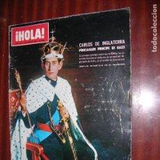Coleccionismo de Revista Hola: (F.1) REVISTA HOLA Nº 1297 AÑO 1969 (EN CASA DE LA FABULOSA SEÑORA DE FORD). Lote 95806199