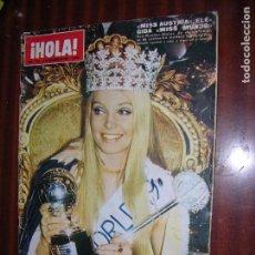 Collectionnisme de Magazine Hola: (F.1) REVISTA HOLA Nº 1319 AÑO 1969 (B.B. REINA DE LA XXIV ..NOCHE DEL CINEMA.. EN PARIS)). Lote 95806559