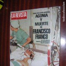 Coleccionismo de Revista Hola: (F.1) LA REVISTA Nº 4 AÑO 1984 (PLACIDO DOMINGO, GRAN MARISCAL EN NEW YORK. Lote 95807059