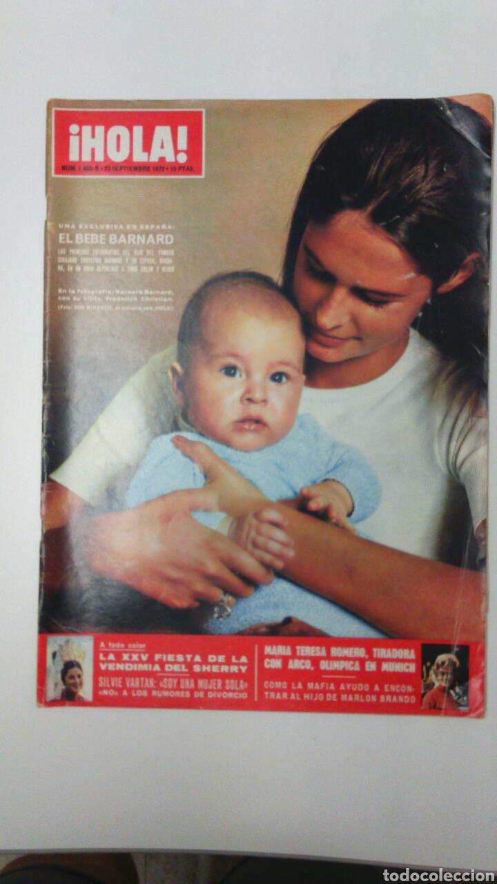 REVISTA HOLA AÑO 1972 (Coleccionismo - Revistas y Periódicos Modernos (a partir de 1.940) - Revista Hola)