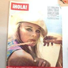 Coleccionismo de Revista Hola: REVISTA HOLA - Nº 1195 - 22 JULIO 1967 - ELKE SOMMER, MIA FARROW, MISS UNIVERSO. Lote 95840663