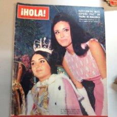 Coleccionismo de Revista Hola: REVISTA HOLA - Nº 1191 - 24 JUNIO 1967 MIS ESPAÑA . Lote 95840975