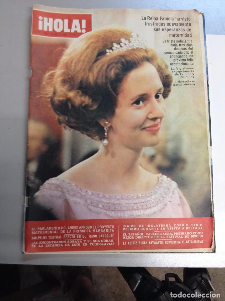 REVISTA HOLA Nº 1142 - 16 JULIO 1966- LA REINA FABIOLA (Coleccionismo - Revistas y Periódicos Modernos (a partir de 1.940) - Revista Hola)