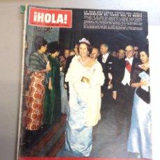 Coleccionismo de Revista Hola: REVISTA HOLA Nº 1156 -22 OCTUBRE 1968. INAGURACIÓN DEL TEATRO RE DE MADRID. MARGARITA DE DINAMARCA.. Lote 95862651
