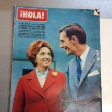Coleccionismo de Revista Hola: REVISTA HOLA Nº 1167 - 7 ENERO 1967 - COMPROMISO MATRIMONIAL DOÑA PILAR DE BORBON. Lote 95863371