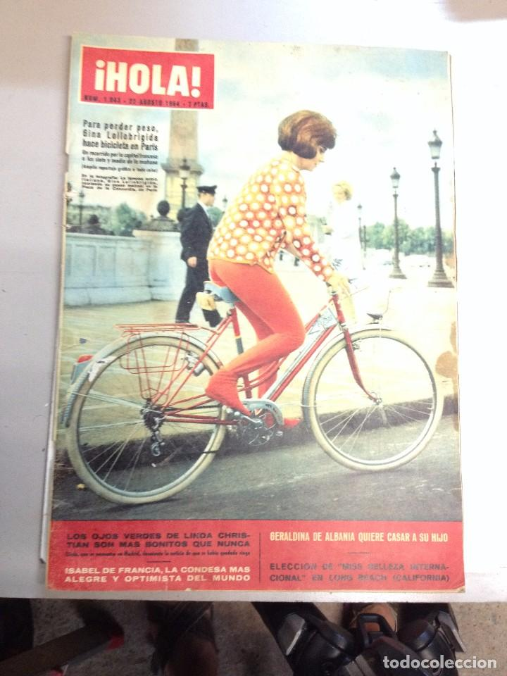 REVISTA HOLA Nº 1043 - 22 AGOSTO 1964- GINA LOLLABRIGIDA (Coleccionismo - Revistas y Periódicos Modernos (a partir de 1.940) - Revista Hola)