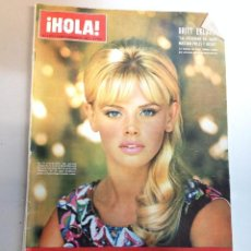 Coleccionismo de Revista Hola: REVISTA HOLA Nº 1173 - 18 FEBRERO 1967 - BRITT EKLUND - RAPHAEL - ADAMO. Lote 95866627