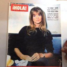 Coleccionismo de Revista Hola: REVISTA HOLA Nº 1198 -12 AGOSTO 1967 NANCY Y TINA SINATRA MIA FARROW - . Lote 95869051