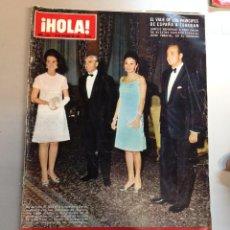 Coleccionismo de Revista Hola: REVISTA HOLA Nº 1313 - 25 OCT 1969 VIAJE PRINCIPES DE ESPAÑA A TEHERAN . Lote 95876263
