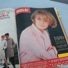 Coleccionismo de Revista Hola: LOTE DE 13 NÚMEROS ENCUADERNADOS REVISTA HOLA AÑO 1965. Lote 96084547