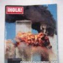 Coleccionismo de Revista Hola: REVISTA ¡HOLA! Nº 2980. 20 DE SEPTIEMBRE DE 2001. ATAQUE TERRORISTA A ESTADOS UNIDOS. TDKR40. Lote 96607335