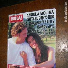 Coleccionismo de Revista Hola: (F,1) REVISTA HOLA Nº 3033 AÑO 2002 ( RONALDO SE REUNIÓ EN MADRID CON MILENE DOMINGUES Y SU HIJO,. Lote 97578843