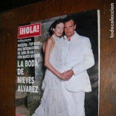 Coleccionismo de Revista Hola: (F,1) REVISTA HOLA Nº 3020 AÑO 2002( CON PABLO DE VEINTE AÑOS, HIJO DE ANGEL NIETO, LA SAGA CONTINÚA. Lote 97581423