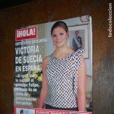 Coleccionismo de Revista Hola: (F.1) REVISTA HOLA Nº 3041AÑO 2002 ( DAVID BISBAL A LA CONQUISTA DE AMÉRICA AMPLIO REPORTAJE). Lote 97830503
