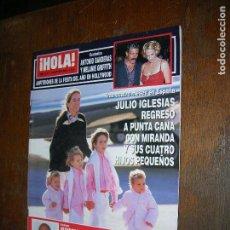 Coleccionismo de Revista Hola: (F.1) REVISTA HOLA Nº 3037 AÑO 2002(ANTONIO BANDERAS ESTUVO CON SU MELANIE Y LAS ESTRELLAS QUE ALLI . Lote 97831847