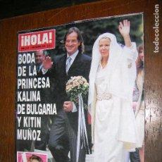 Coleccionismo de Revista Hola: (F.1) REVISTA HOLA Nº 3039 AÑO 2002( SHAKIRA CORONADA COMO LA GRAN ESTRELLA MUSICAL LATINA DEL MOMEN. Lote 97832138