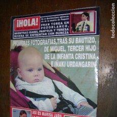 Coleccionismo de Revista Hola: (F.1) REVISTA HOLA Nº 3035 AÑO 2002(ISABEL PANTOJA Y LA FAMILIA RIVERA DE NUEVO ENFRENTADAS). Lote 97832899
