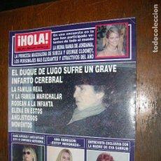 Coleccionismo de Revista Hola: (F.1) REVISTA HOLA Nº 2995 AÑO 2002(LA VERDADERA CARMEN JANEIRO, MI HERMANO JESÚS NO TE DA NI LOS ). Lote 97833483