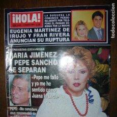 Coleccionismo de Revista Hola: (F.1) REVISTA HOLA Nº 3005 AÑO 2002 (FAMOSOS EN LA PRESENTACIÓN DE ..CHIC, LA NUEVA FRAGANCIA DE. Lote 97843559