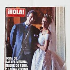 Coleccionismo de Revista Hola: REVISTA HOLA Nº 3456 27 DE OCTUBRE DE 2010. Lote 98158347