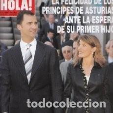 Coleccionismo de Revista Hola: REVISTA HOLA Nº 3172 AÑO 2005. PRINCIPES DE ASTURIAS. ALBERTO DE MONACO. AL BANO. /59. Lote 98164975