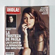Coleccionismo de Revista Hola: REVISTA HOLA Nº 3793 12 ABRIL 2017. Lote 98217471