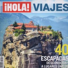 Coleccionismo de Revista Hola: HOLA VIAJES N. 25 - 40 ESCAPADAS DESCONOCIDAS A LUGARES UNICOS POR EUROPA (NUEVA). Lote 117610234