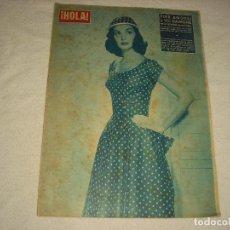 Coleccionismo de Revista Hola: HOLA ! N°611. MAYO 1956 . PIER ANGELI Y VIC DAMONE. Lote 99687407