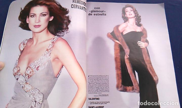 Coleccionismo de Revista Hola: Revista HOLA, número especial de Alta Costura. otoño invierno 1997-98. Modelos MODA DE LOS años 90. - Foto 5 - 99824503