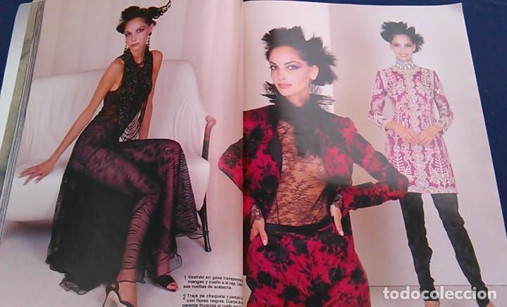 Coleccionismo de Revista Hola: Revista HOLA, número especial de Alta Costura. otoño invierno 1997-98. Modelos MODA DE LOS años 90. - Foto 10 - 99824503
