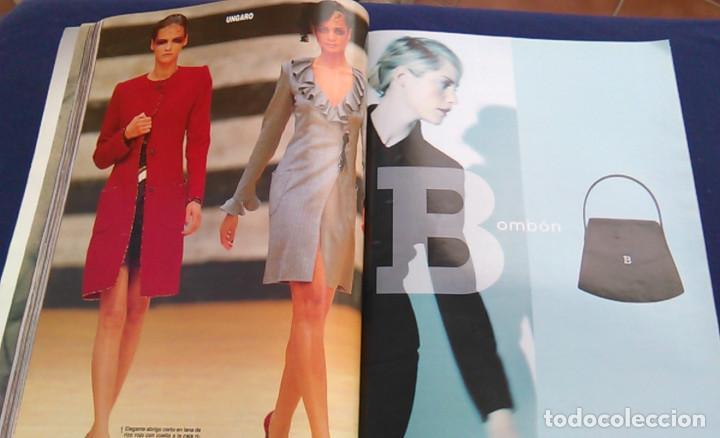 Coleccionismo de Revista Hola: Revista HOLA, número especial de Alta Costura. otoño invierno 1997-98. Modelos MODA DE LOS años 90. - Foto 11 - 99824503