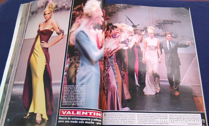 Coleccionismo de Revista Hola: Revista HOLA, número especial de Alta Costura. otoño invierno 1997-98. Modelos MODA DE LOS años 90. - Foto 12 - 99824503