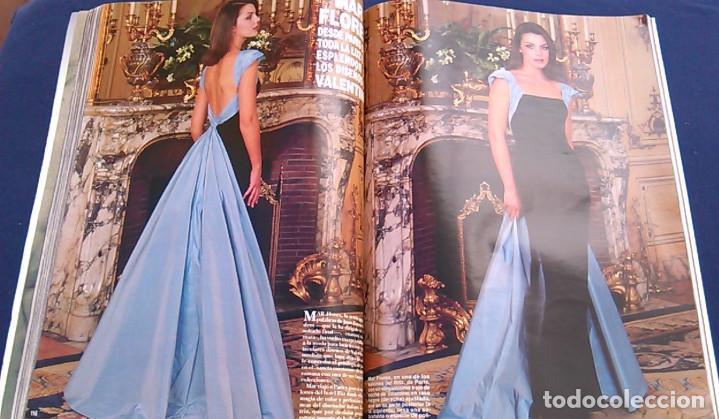 Coleccionismo de Revista Hola: Revista HOLA, número especial de Alta Costura. otoño invierno 1997-98. Modelos MODA DE LOS años 90. - Foto 13 - 99824503