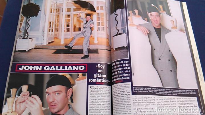 Coleccionismo de Revista Hola: Revista HOLA, número especial de Alta Costura. otoño invierno 1997-98. Modelos MODA DE LOS años 90. - Foto 19 - 99824503