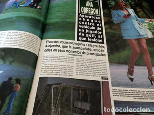 Coleccionismo de Revista Hola: HOLA - 1995 LOLA FLORES, CAROLINA, JACLYN SMITH, EVA HERZIGOVA, ANA OBREGON, MISS UNIVERSO ESTEFANIA - Foto 4 - 100524259