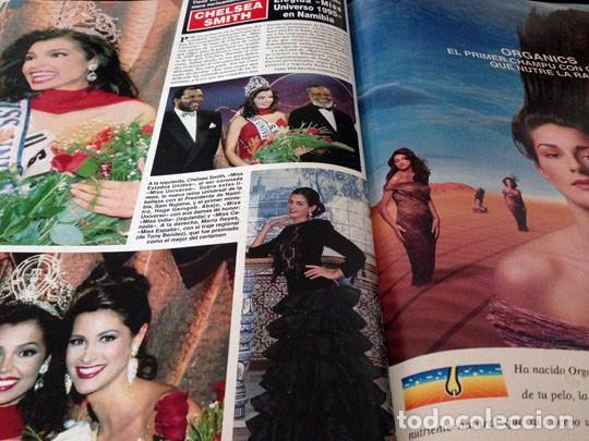 Coleccionismo de Revista Hola: HOLA - 1995 LOLA FLORES, CAROLINA, JACLYN SMITH, EVA HERZIGOVA, ANA OBREGON, MISS UNIVERSO ESTEFANIA - Foto 5 - 100524259
