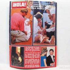 Coleccionismo de Revista Hola: REVISTA DE SOCIEDAD HOLA - MAYO DE 1993 - Nº 2544. Lote 210370542