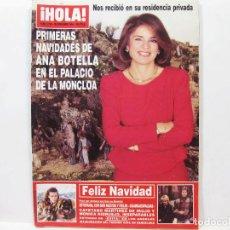 Collectionnisme de Magazine Hola: REVISTA DE SOCIEDAD HOLA - DICIEMBRE DE 1996 - Nº 2733. Lote 100685659