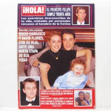 Coleccionismo de Revista Hola: REVISTA DE SOCIEDAD HOLA - ENERO DE 1998 - Nº 2790. Lote 100687971