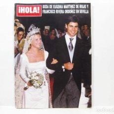 Coleccionismo de Revista Hola: REVISTA DE SOCIEDAD HOLA - NOVIEMBRE DE 1998 - Nº 2830. Lote 100689755