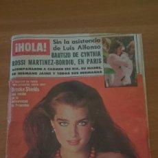 Coleccionismo de Revista Hola: REVISTA HOLA - Nº 2127-- Nº 1 JUNIO - 1985. Lote 101305623